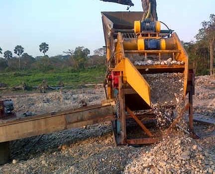 CAT211 Alluvial De-Rocking Plant 1