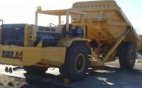 UAA092 Bell B25L Dump Truck