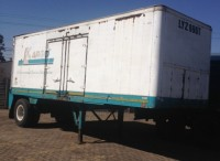 VAD084  Henred Container Trailer